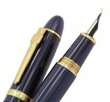 Jinhao 159 Bent Nib Fountain Pen, Fine to Broad Size Fude Pen, Black Color Gold