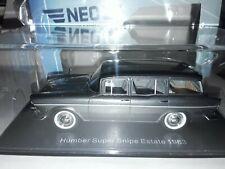 1/43 HUMBER SUPER SNIPE ESTATE,1963 IN METALLIC GREY,NEO