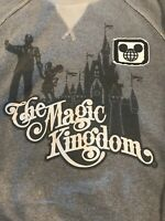 Disney World The Magic Kingdom Walt Mickey Mouse Adult Small Sweat Shirt