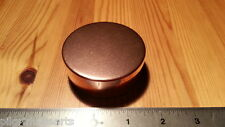 Ted Cash Solid COPPER Snuff  Box, Patch Box, Tinder Box   Made in USA