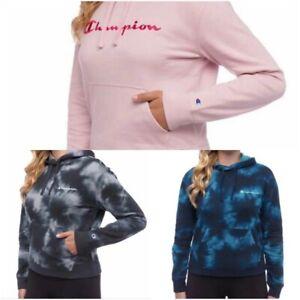 Champion Ladies' Tie Dye Hoodie Fleece Sweatshirt #1465573