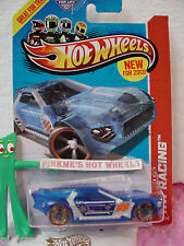 Case N 2013 Hot Wheels BULLET PROOF #140 US Team☆Trans BLUE☆HW Racing☆X-Raycers