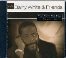 CD COMPIL 16 TITRES--BARRY WHITE & FRIENDS--YOU HEART AND SOUL VOL 3