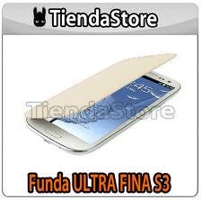Funda FINA compatible GALAXY S3 I9300 - Carcasa delgada protector pantalla CREMA