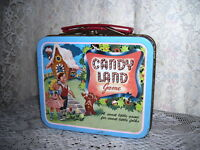 Miniature Metal Lunchbox Candyland 1998 Hasbro