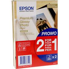 EPSON S042167 CARTA FOTOGRAFICA LUCIDA PREMIUM (2 for1), 10x15cm, 255G/M², 2x40 FOGLI