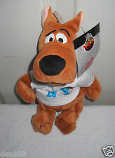 "#9142 NWT Warner Bros I Love New York Scooby Doo 9"" Bean Bag Plush"
