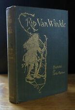 RIP VAN WINKLE (1905) Washington Irving ARTHUR RACKHAM, WILLIAM HEINEMANN 1ST ED
