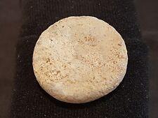 RARO ENORME ROMANO ROTONDA PIOMBO PESO sbalorditivo trovare trovato nel Lancashire Uk L21g