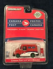 Greenlight - Green Machine-Chase-Canadian LLV Mail Delivery Truck- #49