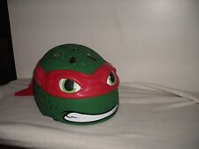 Nickelodeon Mutant Ninja Turtles Raphael Bike Helmet Child Skateboard Sz. Small