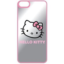 Hello Kitty Mirror Finish Hardshell Case For iPhone 5 5S SE Pink Cover 1E