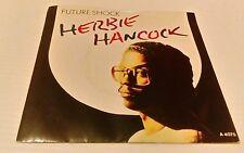 "Herbie Hancock – Future Shock / Earth Beat - 7"" Vinyl Record Single"