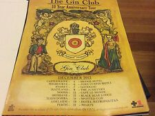 The Gin Club Australian Tour Dec 2013