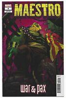 Maestro War & Pax #4 2021 Unread Sanford Greene Variant Marvel Comic Peter David