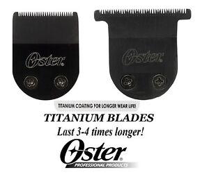 OSTER TITANIUM BLADE for Pro-Cord/Cordless,MiniMax,Vorteq,Teqie,Artisan Trimmers