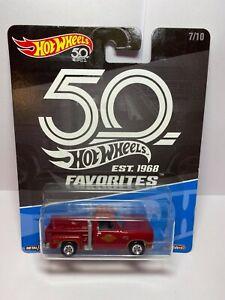 Hot Wheels Real Riders 78 Dodge Li'l Red Express Truck - 50th Anniversary