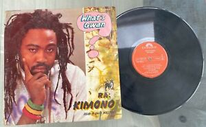 "Ras Kimono ""What's Gwan"" 1990 Afro Reggae LP Polydor Nigeria"