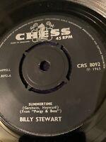 BILLY STEWART Summertime CHESS 45, R&B, SOUL ORIG RARE VINYL