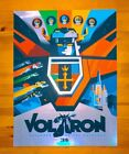 Tom Whalen - 18x24 Screen Print - Voltron (foil paper) - numbered (90/100 ?)