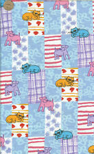 Oop! Cats And Dogs Patchwork - Bty