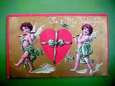 Early 1900 Valentines Day Postcard To My Valentine