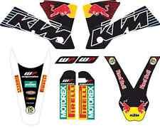 kit pegatinas ktm exc-sx 125-525 2004, graphics, adhesivos