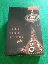 VTG BOB MACKIE BARBIE DOLL☆FANTASY GODDESS OF AFRICA☆NIB