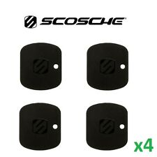 4x Scosche Small MagicPlate Replacement Magic Mount Backing Plate