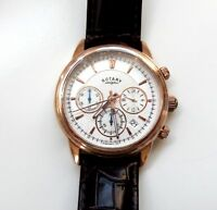 """New Gent's Rotary """"Monaco"""" Chronograph Quartz Watch with Date (GS02879/06)"""