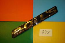 1993>1998 GENUINE HONDA ACCORD 2.0i LS BLACK & CHROME PLASTIC REAR BADGE EMBLEM.