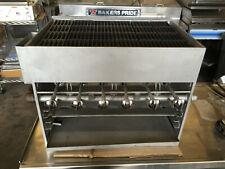 Bakers Pride Sgbr2 Gas Char Broiler Countertop Lp Showroom Model