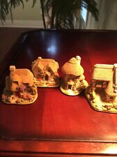 Lot of 4 Lilliput Lane Cottages/Houses