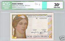 FRANCE 300 FRANCS ND (1938) ALPHABET D N° 0262561 PICK 87a ICG 30 VF