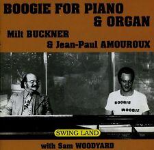 MILT BUCKNER & JP AMOUROUX & SAM WOODYARD  boogie for pianos & organ