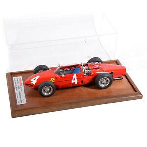 MG Model Plus 1:12 Scale F1 Ferrari Dino 156 Phil Hill 5 of 50 Display Cased