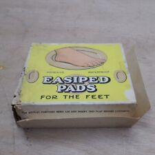 More details for easiped adhesive pads for feet vintage 1940s 50s advertising display 5x full box