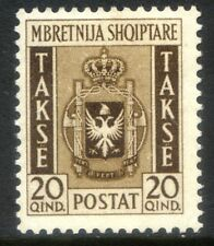Occupazione Italiana dell'Albania 1940 Segnatasse n. 3 * (l742)