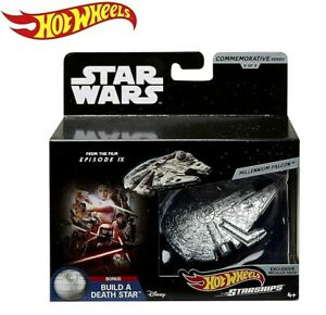 Hot Wheels Star Wars Starships Commemorative Series 9 of 9 Millennium Falcon NEW
