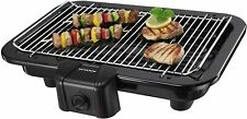 Severin 2790.760 Barbecue 2500 W Chrome Grille 41x26 cm Low in Smoke and Odors