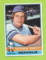 1976 Topps - George Brett (#19)  Kansas City Royals  Nicely Centered!