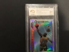 """96/97 Shaquille O'Neal Topps Mystery Finest Refractor *RARE* """"BE QUICK """""""