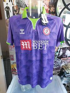 Bristol City Footbal Shirt 20/21 Away Shirt Hummel XL BNWT