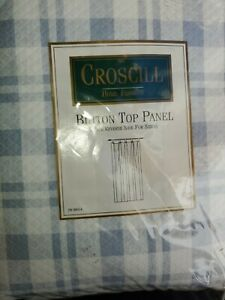 Crosscill button top panel. Up to 2 available. Quick USA shipper...