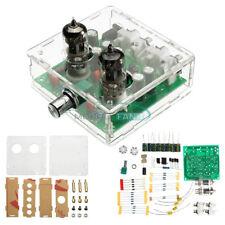 VALVOLA di 6J1 Pre-AMP TUBE PREAMPLIFICATORE Board corrente alternata 12V AMPLIFICATORE PER CUFFIE + VALIGETTA