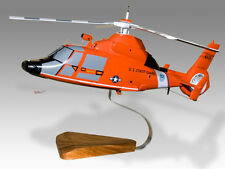 Aerospatiale HH-65C Dolphin US Coast Guard New Orleans Wood Helicopter Model