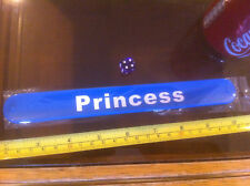 Princess Blue Snap Bracelet High Quality Fold Plastic Wristband