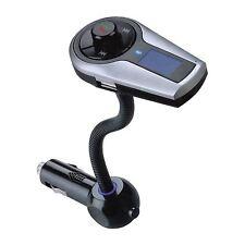Bluetooth Handsfree Car Kit FM Transmitter for iPhone Galaxy HTC LG Xperia