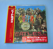 The Beatles Sgt. Pepper's solitaire hearts club Japon MINI LP CD SHM 1st Press Red