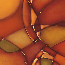 Scott J : Morgan: Spice cuisine I tableau prêt 45x45 mural abstrait moderne